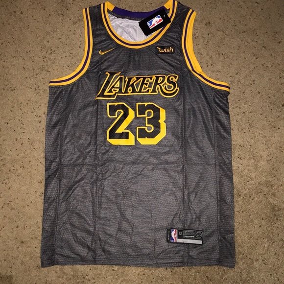 e8102437 Nike Shirts | Lebron James Los Angeles Lakers Alternate Jersey ...